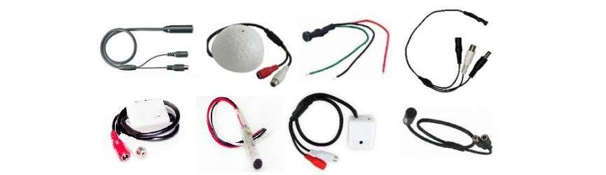 میکروفون برای انتقال صدا در دوربین مدار بسته