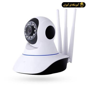 آشنایی با دوربین مدار بسته بی سیم و تحت شبکه