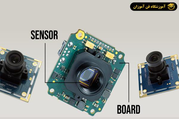 ارتباط دوربین مداربسته با سنسور