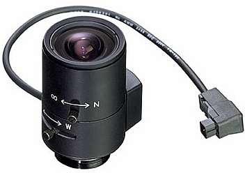 لنز آیریز اتوماتیک در دوربین مدار بسته
