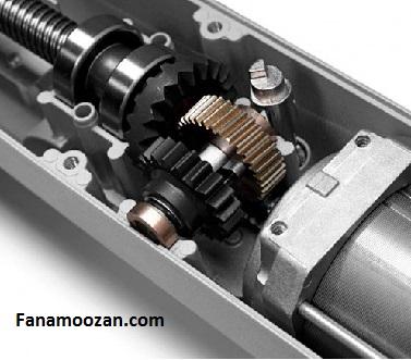 قسمت مکانیکی یا گیربکس