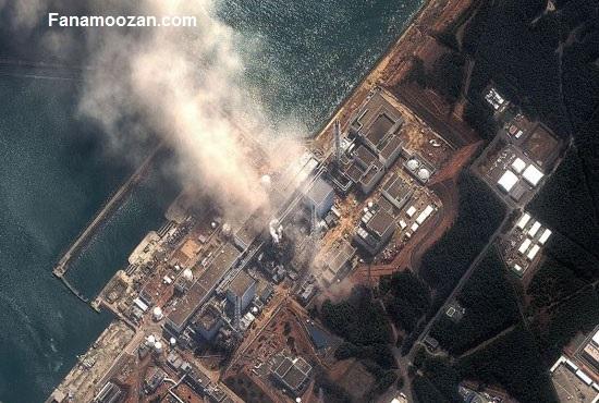 تصاویر اخذ شده از انفجار در یک نیروگاه هسته ای توسط دوربین های مدار بسته