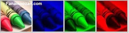برآورد پیکسل های از دست رفته در هر لایه ی رنگ بر پایه ارزش پیکسل های کناری