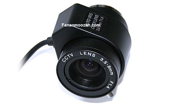 لنزهای خودکار دوربین مداربسته