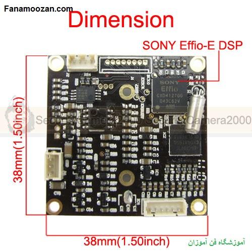 پردازشگر sony effio DSP