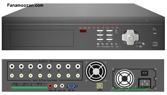 دستگاه DVR مستقل با حافظه ی فلش کارت