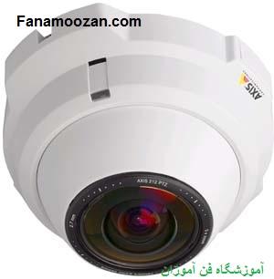 دوربین مدار بسته شبکه قابل چرخش و بزرگنمایی غیر مکانیکی PTZ
