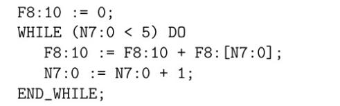 زبان برنامه نویسی Structured Text (ST)