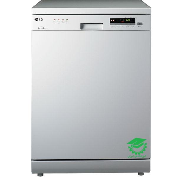 عیب یابی کدهای خطای ماشین ظرفشویی LG