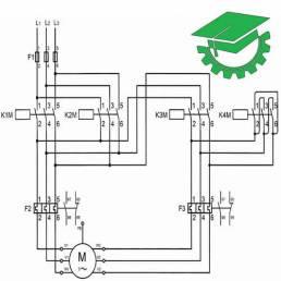 موتور سه فاز کنترل از یک نقطه
