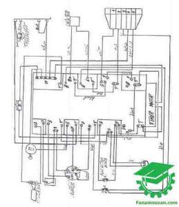 نقشه سیم کشی لباسشویی هوور مدل 950