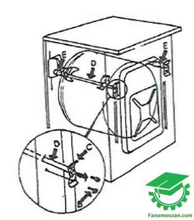 نحوه عیب یابی ماشین لباسشویی اتوماتیک