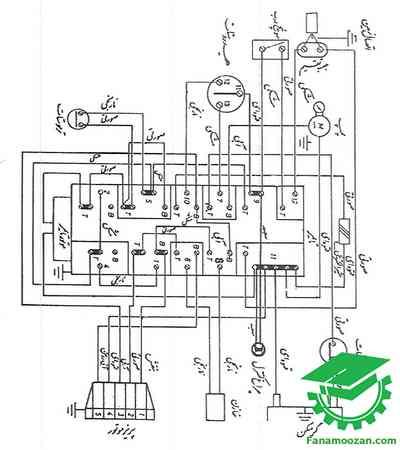 دیاگرام سیم بندی هوور مدل 6000 – 29892