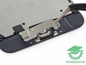 جداکردن پایه دکمه از پنل