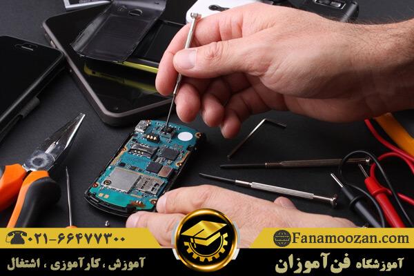 لیست ابزار تعمیرات موبایل