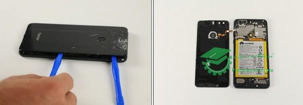 نحوه تعویض باتری گوشی هوآوی
