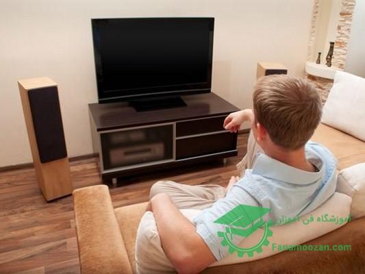 صفحه تلویزیون LED سیاه می شود