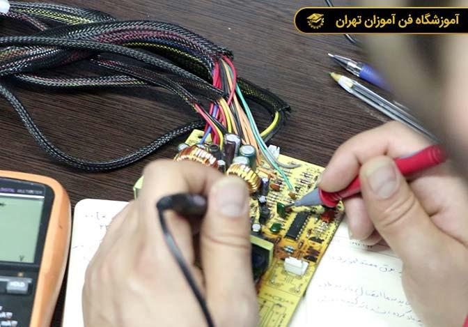 آموزش تعمیرات دوربین مدار بسته