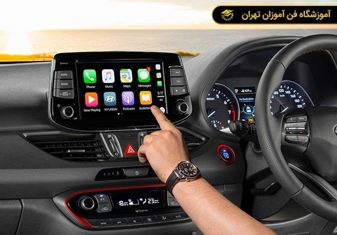 آموزش نصب ضبط و باند خودرو