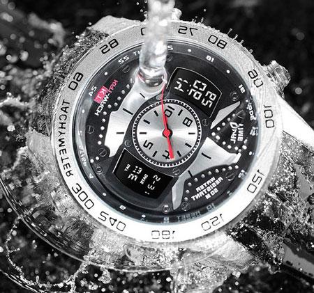 آیا بدنه ساعت مچی به سرعت خیس میشود؟