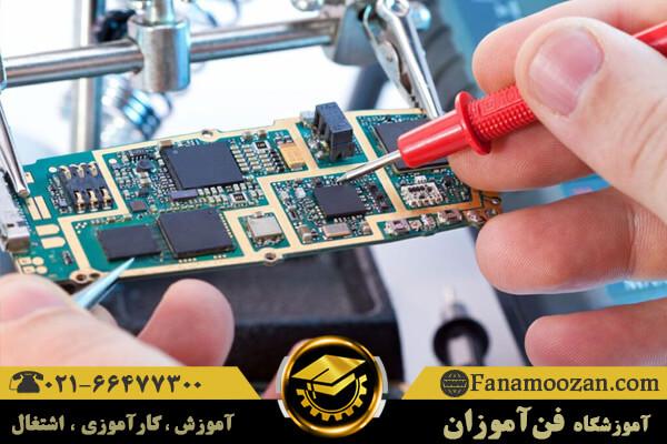 سرمایه لازم برای تعمیرات بردهای الکترونیک