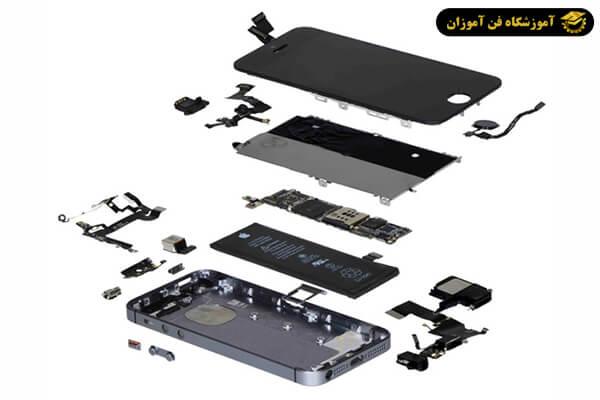 آشنایی با قطعات موبایل