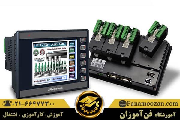 استفاده از HMI در اتوماسیون صنعتی