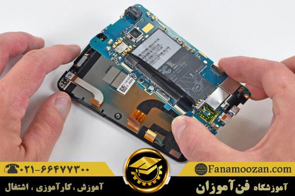 معرفی قطعات روی برد موبایل