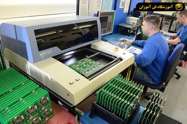 فرآیند تولید برد های الکترونیکی SMD