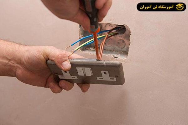 چگونگی نصب کلید و پریز در برق ساختمان