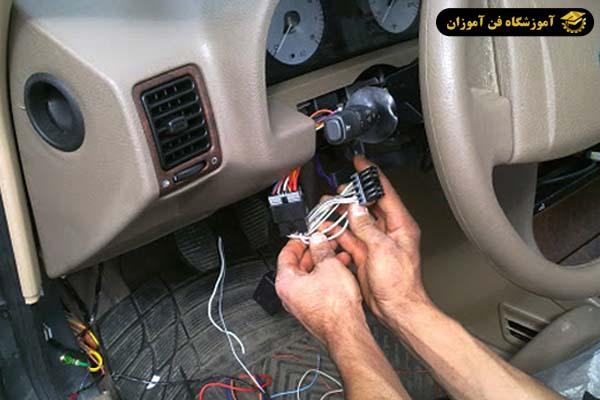 نصب دزدگیر خودرو