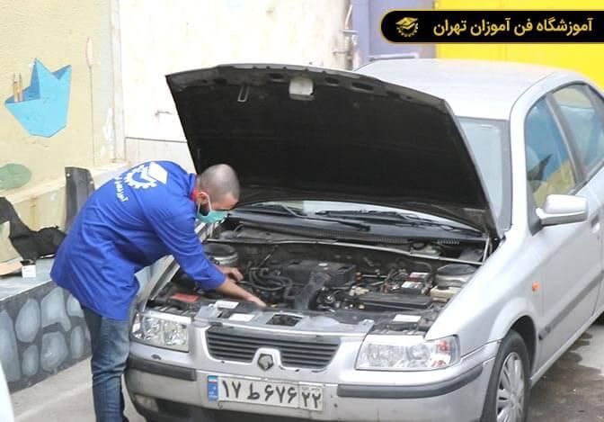 آموزش مکانیک خودرو درجه 2 و درجه 1