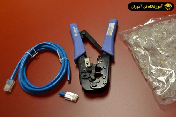 نصب سوکت شبکه