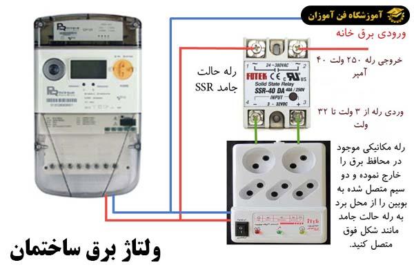ولتاژ برق ساختمان