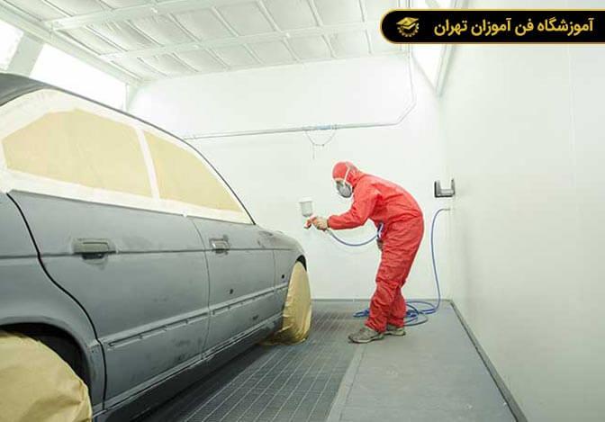 آموزش نقاشی خودرو