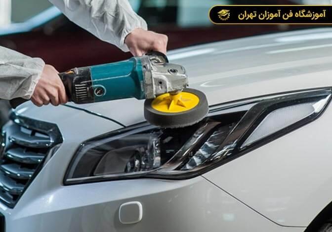 آموزش صافکاری خودرو
