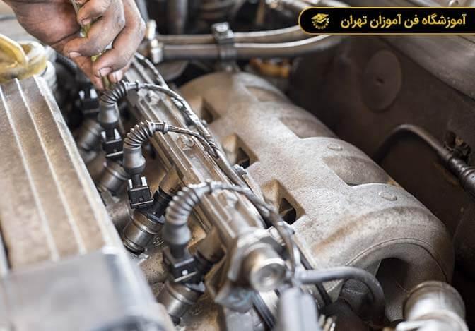 آموزش تعمیرات انژکتور و دیاگ خودرو از مقدماتی تا پیشرفته