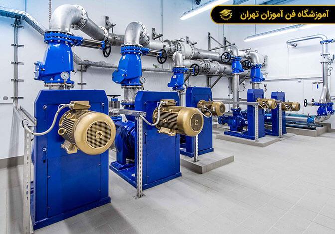 آموزش تاسیسات ، نصب و تعمیر موتورخانه
