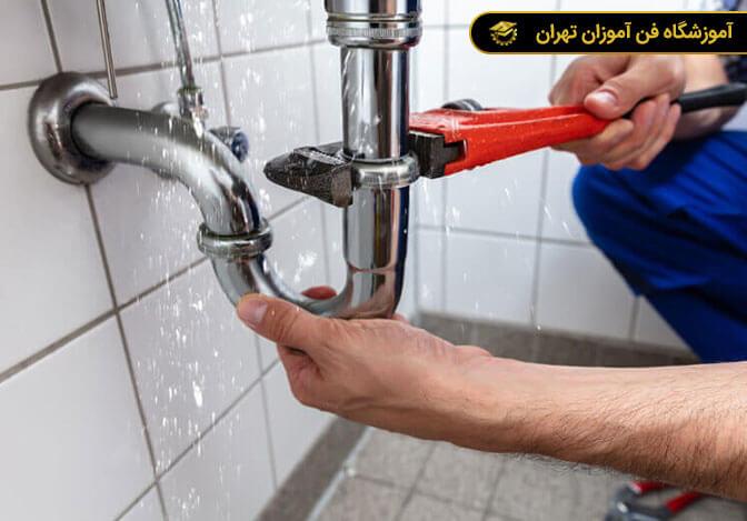 آموزش عملی لوله کشی آب و فاضلاب ساختمان