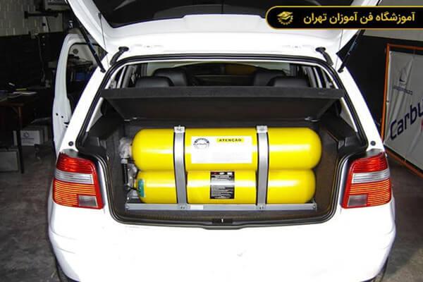 آموزش نصب و تعمیر CNG و LPG (سیستم گازسوز) خودرو