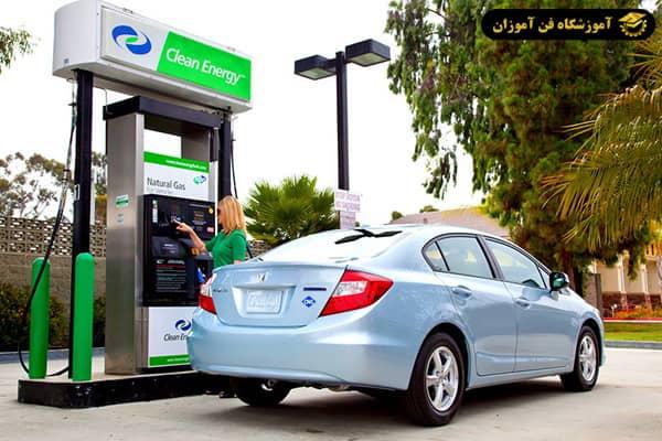 تعمیر و نصب سیستم گازسوز ماشین