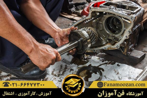 آموزش تعمیرات موتور و گیربکس تویوتا و نیسان