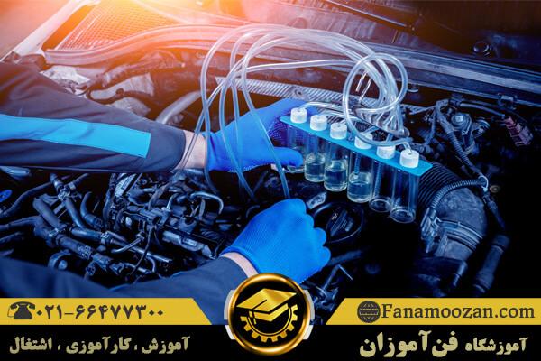 تشریح سیستم انژکتور خودرو