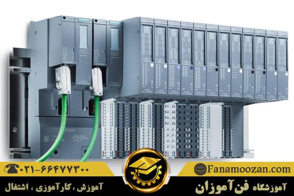 معرفی اجزای سخت افزاری PLC