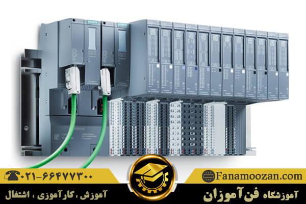قسمتهای مختلف PLC