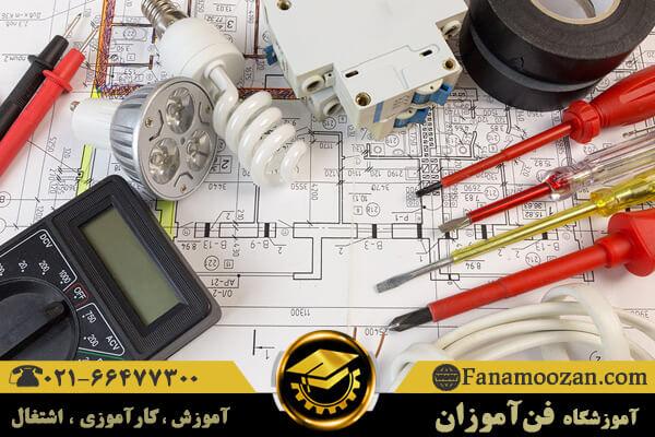 معرفی تجهیزات بکار رفته در برق ساختمان
